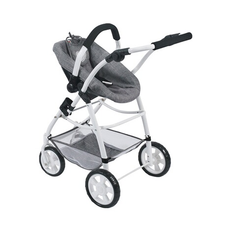 BAYER CHIC  Kombi-Puppenwagen 3 in 1 Emotion All In  jeans/grau 6