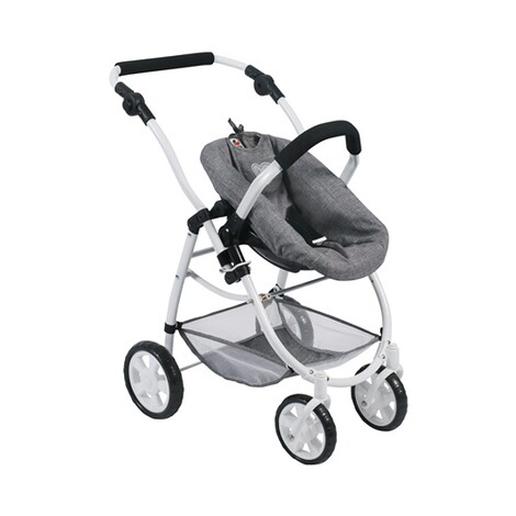 BAYER CHIC  Kombi-Puppenwagen 3 in 1 Emotion All In  jeans/grau 7