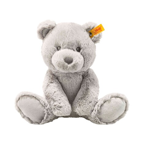 STEIFF  Teddybär Bearzy Soft Cuddly Friends 28cm  grau 1