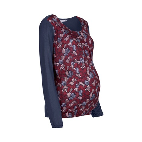 2hearts COSY & WILD Umstands-Bluse Satin 2