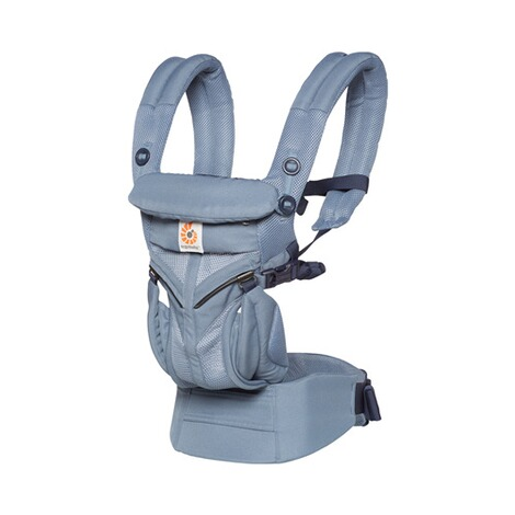 Ergobaby® OMNI 360 Cool Air Mesh Babytrage, 4 Tragepositionen  Oxford Blue 1