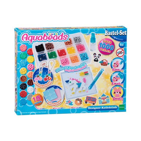 AQUABEADS  Bastel-Set Designer Kollektion 1