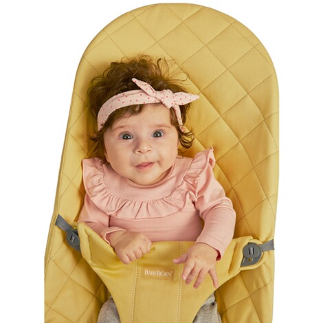 BABYBJÖRN  Babywippe Bliss Cotton  Yellow 5