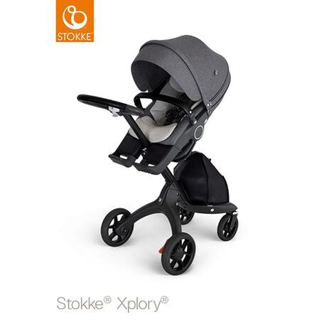 stokke neugeborenen einlage f r kinderwagen xplory v6 trailz online kaufen baby walz. Black Bedroom Furniture Sets. Home Design Ideas