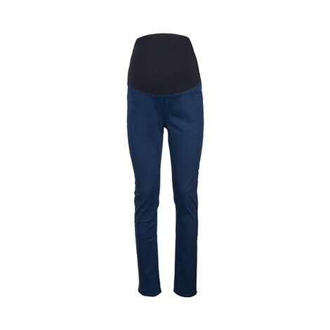 2hearts COSY & WILD Umstands-Hose Skinny  blau 1