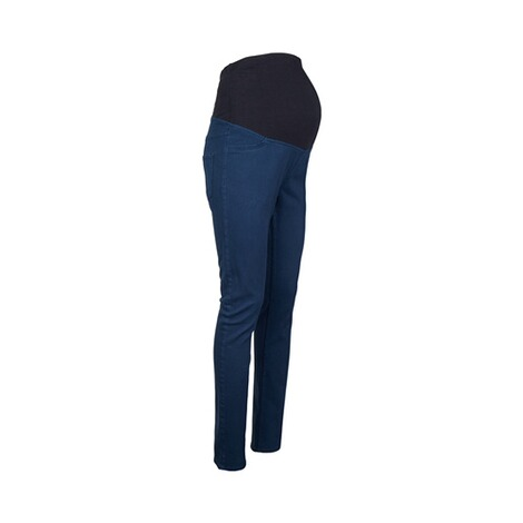 2hearts COSY & WILD Umstands-Hose Skinny  blau 2