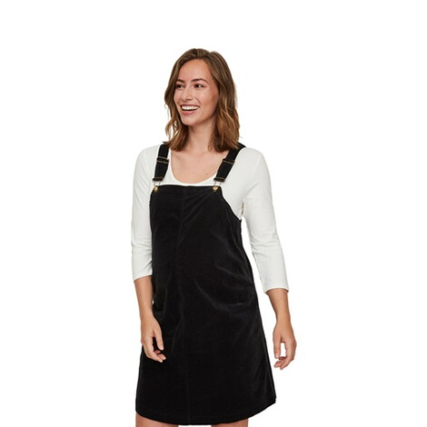 MAMALICIOUS®  Umstands-Kleid Orlando Velour Pinafore 3