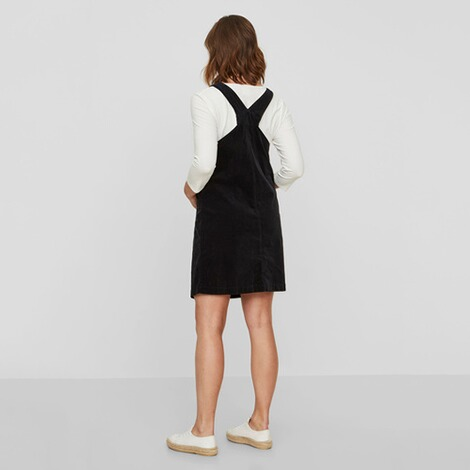 MAMALICIOUS®  Umstands-Kleid Orlando Velour Pinafore 4