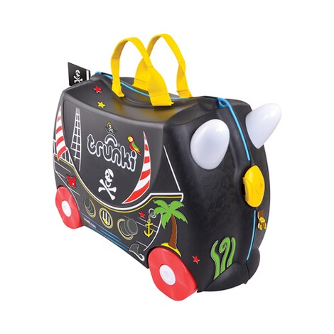 TRUNKI  Kindertrolley Pedro das Piratenschiff 2