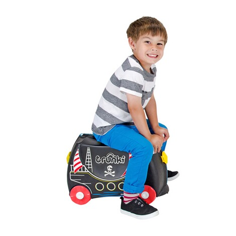 TRUNKI  Kindertrolley Pedro das Piratenschiff 4