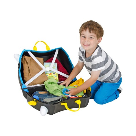 TRUNKI  Kindertrolley Pedro das Piratenschiff 5