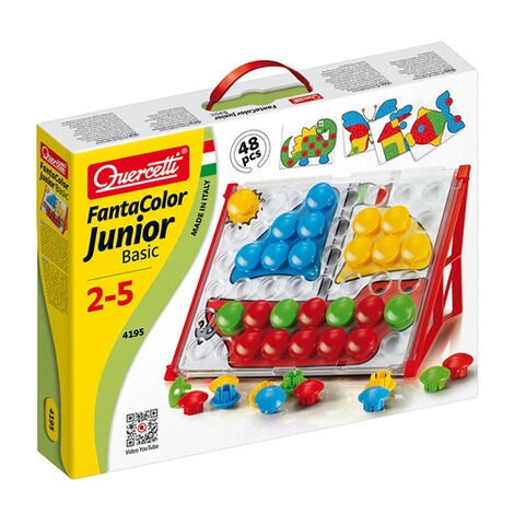 QUERCETTI  Steckspiel FantaColor Junior Basic 48 Stecker 2