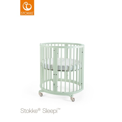 Stokke® SLEEPI™ Babybett mit Matratze Sleepi Mini (0 - 6 Monate)  Mint Green 1