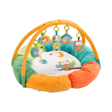 Fehn  Spielbogen mit 3-D-Activity-Nest Eule Sleeping Forest 1