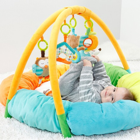 Fehn  Spielbogen mit 3-D-Activity-Nest Eule Sleeping Forest 4