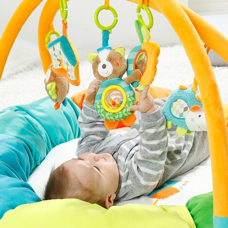 Fehn  Spielbogen mit 3-D-Activity-Nest Eule Sleeping Forest 5