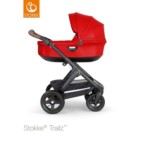 STOKKE®  Tragewanne für Trailz, Crusi  black/red 4