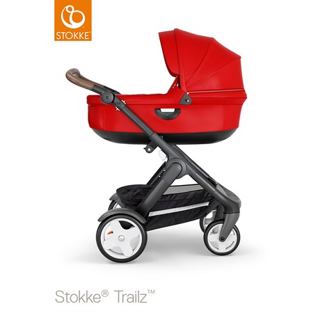 STOKKE®  Tragewanne für Trailz, Crusi  black/red 3