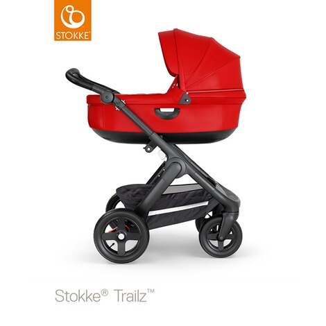 STOKKE®  Tragewanne für Trailz, Crusi  black/red 5