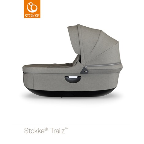STOKKE®  Tragewanne für Trailz, Crusi  black/brushed grey 1