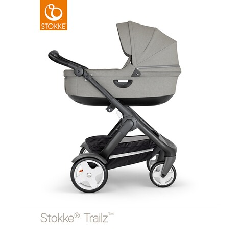 STOKKE®  Tragewanne für Trailz, Crusi  black/brushed grey 2