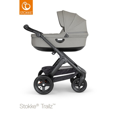 STOKKE®  Tragewanne für Trailz, Crusi  black/brushed grey 5