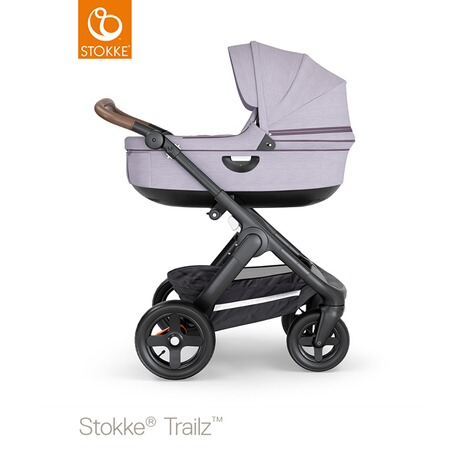 STOKKE®  Tragewanne für Trailz, Crusi  black/brushed lilac 4