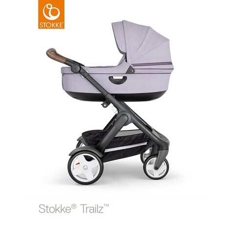 STOKKE®  Tragewanne für Trailz, Crusi  black/brushed lilac 3