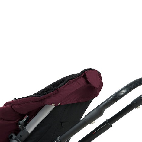 Odenwälder  Winter-Fußsack Keep Heat XL für Sportwagen, Buggy  black berry 3