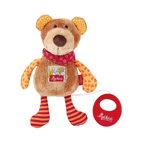 Sigikid  Spieluhr Bär Red Stars Collection 23cm 1