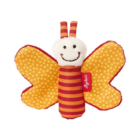 SIGIKID  Greifling Schmetterling Red Stars Collection  orange 1