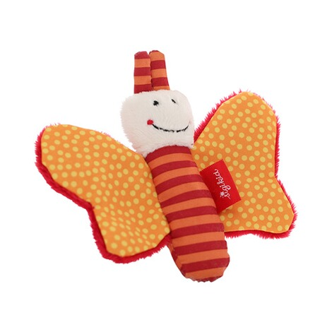 SIGIKID  Greifling Schmetterling Red Stars Collection  orange 4