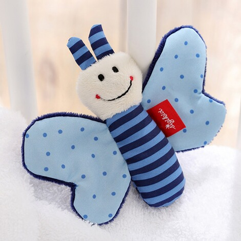 SIGIKID  Greifling Schmetterling Red Stars Collection  blau 4