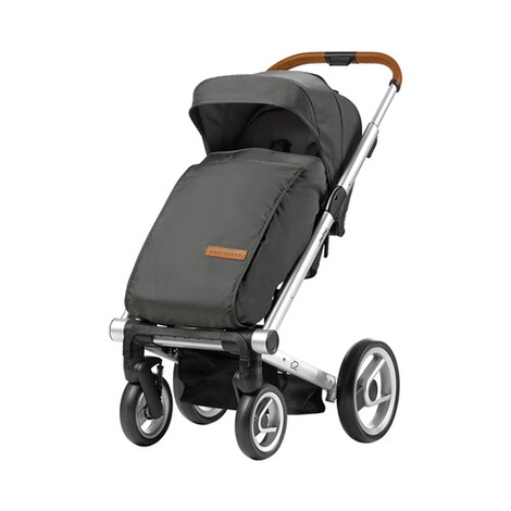 MUTSY  Beindecke für i2  Urban Nomad Dark Grey 2
