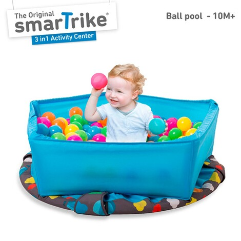 smarTrike  Trampolin 3 in 1 Activity Center 90 cm 2