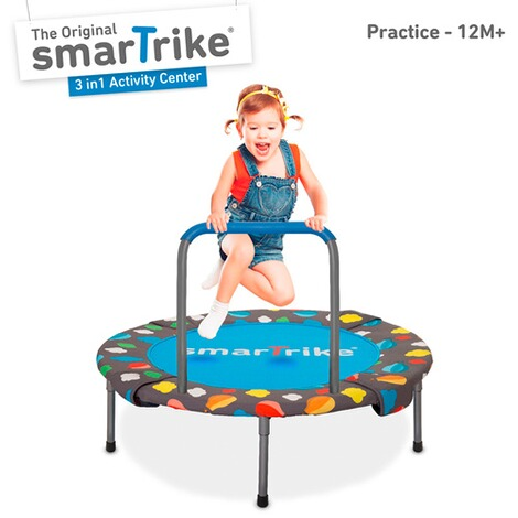 smarTrike  Trampolin 3 in 1 Activity Center 90 cm 3