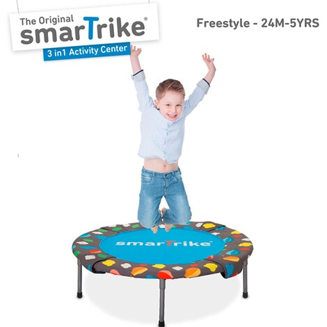 smarTrike  Trampolin 3 in 1 Activity Center 90 cm 5
