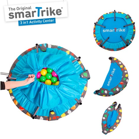 smarTrike  Trampolin 3 in 1 Activity Center 90 cm 6