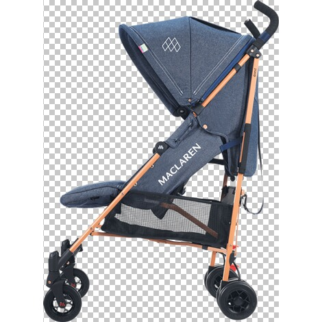Maclaren  Quest Buggy mit Liegefunktion  Denim Indigo 2
