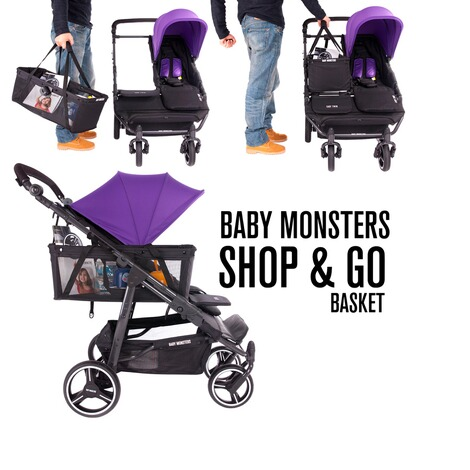 Baby Monsters  Shop&Go Einkaufskorb Easy Twin 3.0S 8