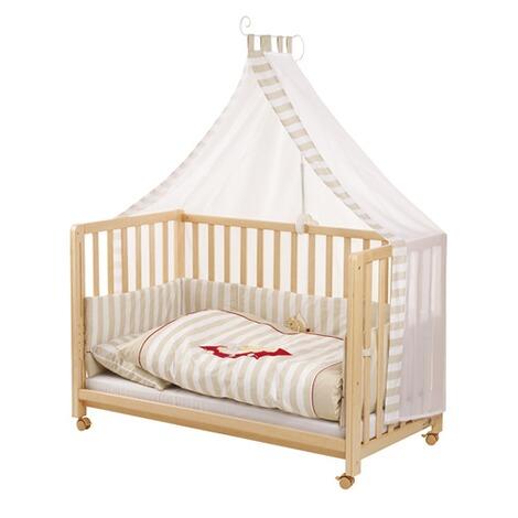 roba beistellbett mit ausstattung schnuffel 60x120 cm online kaufen baby walz. Black Bedroom Furniture Sets. Home Design Ideas
