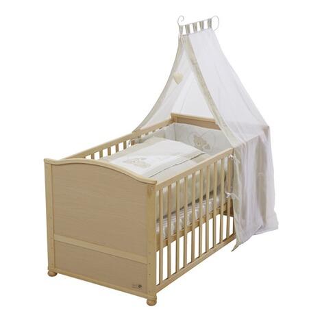 roba babybett mit ausstattung liebhab r 70x140 cm online kaufen baby walz. Black Bedroom Furniture Sets. Home Design Ideas