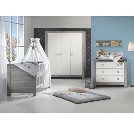 schardt 3 tlg babyzimmer nordic driftwood online kaufen baby walz. Black Bedroom Furniture Sets. Home Design Ideas