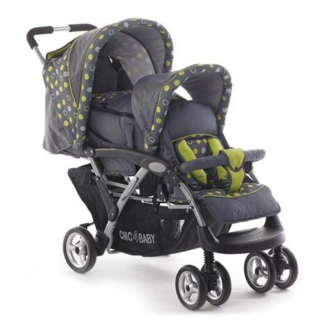 chic 4 baby duo zwillings und geschwisterwagen mit. Black Bedroom Furniture Sets. Home Design Ideas