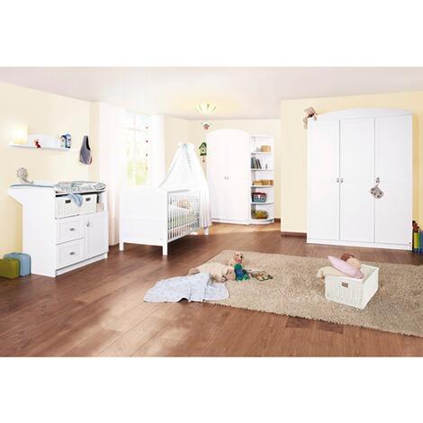 Pinolino 3 tlg babyzimmer laura online kaufen baby walz - Pinolino babyzimmer ...