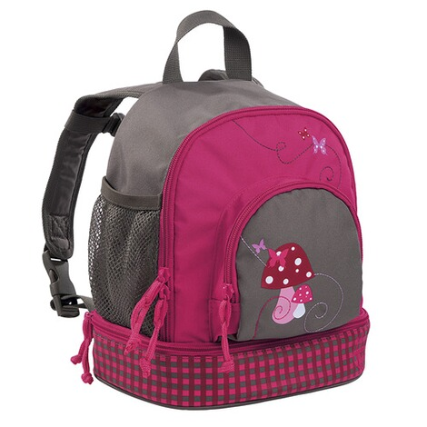 Lässig 4KIDS Kindergartenrucksack Mini Backpack Mushroom magenta 1