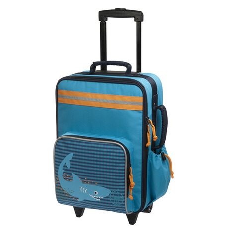 LÄSSIG 4KIDS Kindertrolley  blau 1
