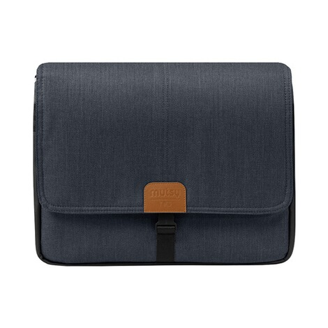 MUTSY  NIO Wickeltasche  North Blue Shade 1
