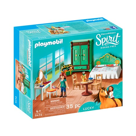 Playmobil® PLAYMOBIL Spirit Riding Free 9476 Luckys Schlafzimmer