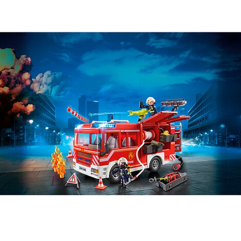 Verem #115 Mack R 600 Los Angeles Red 1:43 O Scale Diecast Model Fire Truck